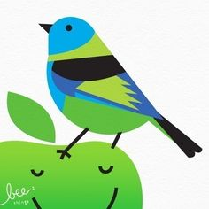 greenheaded tanager limited edition print by beethings on Etsy, $25.00