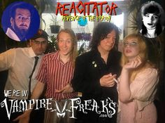 """Flyer for the July 1st 2017 premiere of the film """"Reagitator""""- Alan Merrill has a principal role in the film."""
