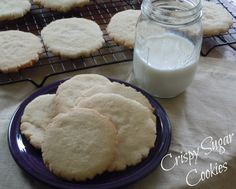 Crispy Sugar Cookie Recipe