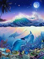 The Blue World (Moon) - Christian Riese Lassen