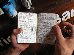 9 Lists To Keep Updated, and Keep Handy - I probably won't actually do this, but its a nice idea Perfect Handwriting, Penmanship, Pens, Notes, Bullet Journal, Learning, Office Supplies, Notebook, Business