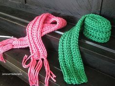 Free Pattern - Toddler Scarves  Check out the freebies from thetoddlerwhisperer's blog, and check out her fabulous Etsy shop at http://www.etsy.com/shop/toastycrow?utm_source=CraftCult&utm_medium=api&utm_campaign=api