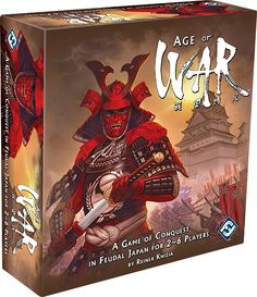 The Age of War from Reiner Knizia and Fantasy Flight Games!
