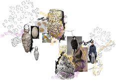 Fashion Design Graduate, specialising in design, textiles and Illustration Sketchbook Layout, Textiles Sketchbook, Fashion Design Sketchbook, Fashion Design Portfolio, Okayama, Presentation Layout, Collage Design, Concept Board, Fashion Collage