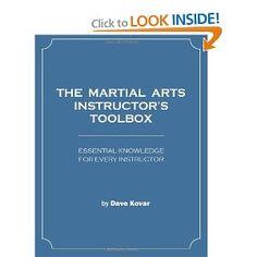 The Martial Arts Instructor's Toolbox: Dave Kovar: 9781478240747: Amazon.com: Books