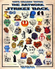 The Artwork Strikes Back: Tattoo Star Wars Tributes