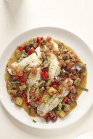 Mark Bittman: Steamed Fish with Ratatouille | Shine Food - Yahoo! Shine