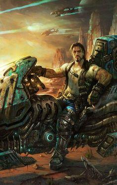 StarCraft II: Wings of Liberty - Jim Raynor