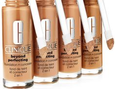 Fond de ten 2 in 1 Clinique Beyond Perfecting™ Foundation + Concealer Canar Foundation, Energy Drinks, Red Bull, Concealer, Beverages, Canning, Home Canning, Foundation Series, Conservation