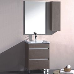Bathroom mirror cabinets work well in your bathroom for helping your personal care, they will be very good as well to add nice decorative look of the room Bathroom Mirror Cabinet, Mirror Cabinets, Mirror Door, Painting Cabinets, Custom Mailboxes, Flush Doors, Furniture Design, Furniture Ideas, Amazing Bathrooms