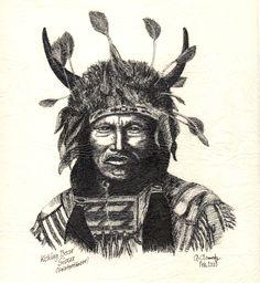#Kicking Bear, #Sioux (Geistertänzer)  #NativeAmerican