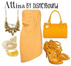 Attina, from the Little Mermaid. One of Ariel's sisters