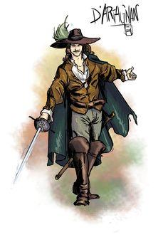 d'Artagnan, the gascon by MrHarp.deviantart.com on @DeviantArt