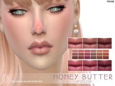 Lana CC Finds - Honey Butter - Lip Colour by Screaming Mustard
