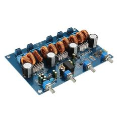 TPA3116 4.1 Class D Amp Power Stereo Amplifier Board With Bluetooth 4x50W+100W