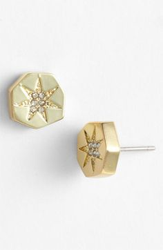 Bought these earrings and love em.  want every color now!  Vince Camuto Stud Earrings available at #Nordstrom