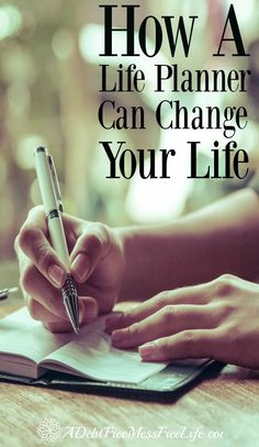 Have you wondered if a life planner could really help you get and stay organized? Organize your schedule, budget, meal planning and special projects all in one place, work on your personal goals too! Learn more!