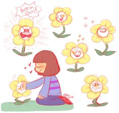 Flowey the Flower by Celebi9 on DeviantArt