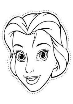 Disney Princess Face Coloring Pages Rapunzel Coloring Pages, Belle Coloring Pages, Princess Coloring Pages, Disney Coloring Pages, Coloring Pages For Kids, Kids Coloring, Free Coloring, Superhero Coloring Pages, Halloween Coloring Pages