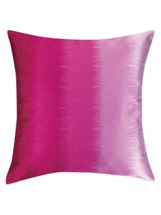Ombre Embroidered Pillow on Gilt