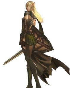 Elf Female from Lineage II