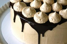 Chocolate Fudge Cake with Peanut Butter Buttercream and Chocolate Ganache,,This looks heavenly!!!