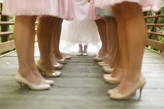 Wedding photo idea...I really like this one, because I will be wearing blue converse!!! :P