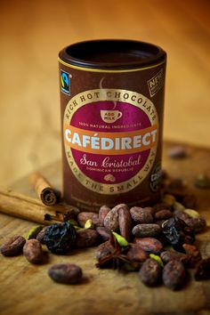 Cafedirect San Cristobal Hot Chocolate - luxurious and velvety
