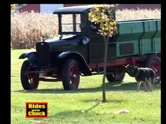 1928 International Harvester truck, we go for a ride! Navistar is staying in Illinois!