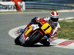 Freddie Spencer. 1984 Honda NSR 500