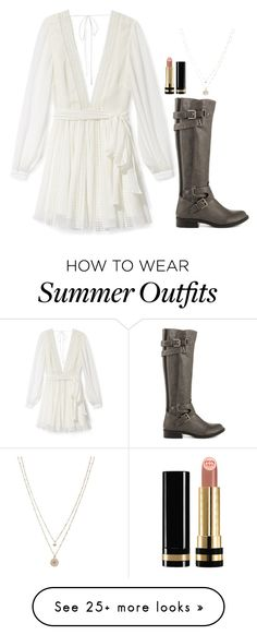 """Allison Argent Inspired Outfit"" by daniellakresovic on Polyvore featuring Rebecca Minkoff, G by Guess, Gucci and LC Lauren Conrad"