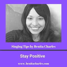 Singing Tips By Benita Charles: Stay Positive. A positive attitude will go along way with helping you cope and focus on solutions. As long as there is hope, there's always a way. Keep the faith and stay in the light! #singingtipsbybenitacharles #positiveattitude #stayinthelight #create #product #services #createyouropportunity #success #letyourlightshine #shareyourgifts #buildyourlegacy #singingtips #artistdevelopment #benitacharlesmusic
