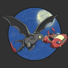Aloha! T-Shirt $11 Toothless tee at RIPT today only!