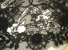 Karen Nicol, Textile Art, Photographs, Illustration, Embroidery, Inspiration, Final Major, Project, Fashion, Student