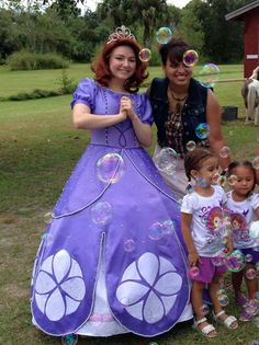 Sofia the First Costume by PrestigeCouture on Etsy, $850.00