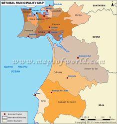 Concelhos do distrito de Setubal