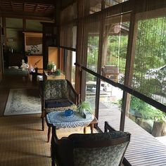 Japanese Style House, Japanese Interior Design, Home Interior Design, Interior Architecture, Small Room Interior, Relaxation Room, Front Rooms, Land Scape, Living Room Designs
