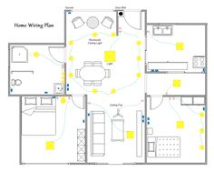 home electrical wiring diagram blueprint our cabin home rh pinterest com