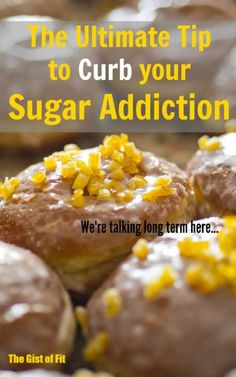 Easy and simple tip to break away from your sugar addiction.