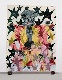 8a7952abf5f Chris Ofili » The Adoration of Captain Shit and the Legend of the Black  StarsDavid Zwirner
