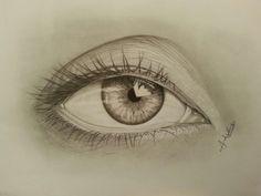 """""""eye"""" fatto in 5 giorni, carta canson bristol xl"""