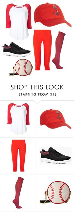 """""""Baseball player"""" by lauren53103 on Polyvore featuring Frame Denim, Coral Bay, Theory+, Boohoo, Ozone, Betsey Johnson, Costume and baseballplayer"""