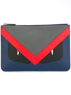 f99cdf6d3629 FENDI .  fendi  bags  leather  clutch  metallic  hand bags