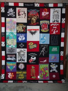 tshirt quilts with names - Bing images