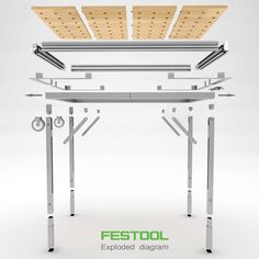 Design proposal for The Workbench Revolution competition for Festool