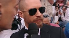 Tom Hardy - Mad Max: Fury Road Premiere - 68th annual Cannes Film Festival - May 14, 2015 (France) Gala