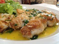 O peixe com manteiga do La France é sempre uma boa pedida para almoço ou jantar