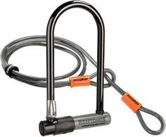 Kryptonite KryptoLok Series 2 Std U-Lock with 4 Foot Kryptoflex Cable