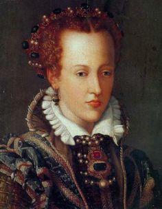 1570 Joanna of Austria (1547–1578) Giovanna d'Austria by Alessandro Allori