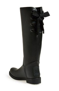 COACH 'Tristee' Waterproof Rain Boot | Nordstrom